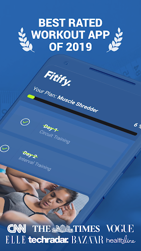 Fitify: Workout Routines & Training Plans Apk 1