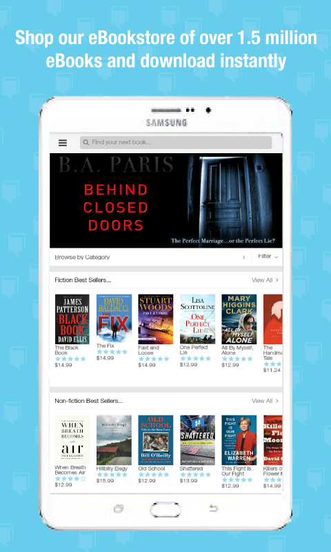 BookShout: eBook & Reading App- screenshot