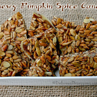 Chewy Pumpkin Spice Candy
