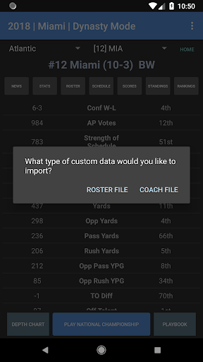College Football Coach: Career Edition v1.2.20 {cheat|hack|gameplay|apk mod|resources generator} 3