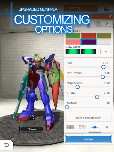 GUNDAM BATTLE: GUNPLA WARFARE 2.00.01 screenshots 6