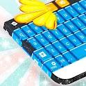 Caramelo Azul GO Keyboard icon