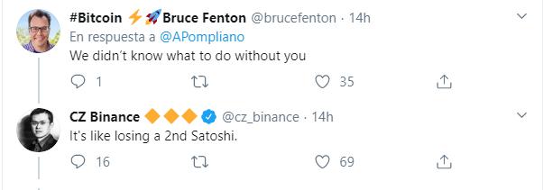 Otros líderes se tomaron el incidente de Pompliano positivamente, tal como puedes apreciar en estos tweets