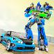 Flying Car Robot Transform Fight