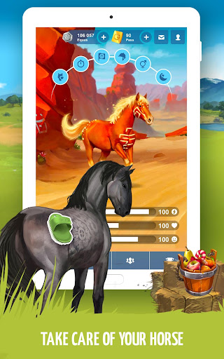 Howrse - free horse breeding farm game 4.0.5 screenshots 16