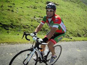 Photo: Me dio tiempo a dejarle la cámara a otro ciclista para que me hiciera una foto