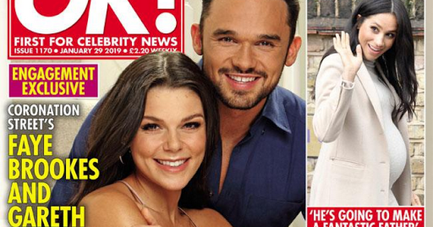 Gareth Gates sang a 17-minute song when he proposed to Faye Brookes