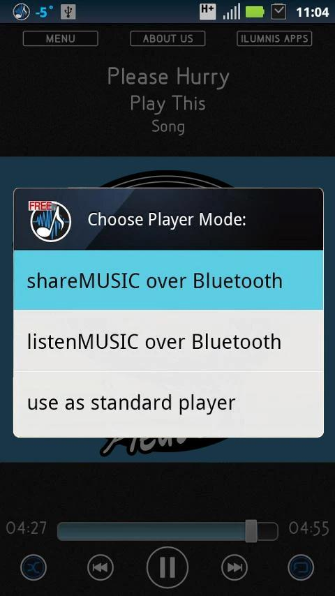 Bluetooth Music Player Free- screenshot