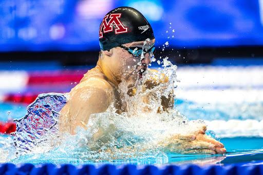 Minnesota's Max McHugh Blasts Lifetime Best 100 Meter Breast: 59.57