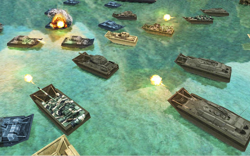 Army Tank Battle War On Water : Armoured Vehicle apkpoly screenshots 3