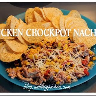 Chicken Crockpot Nachos