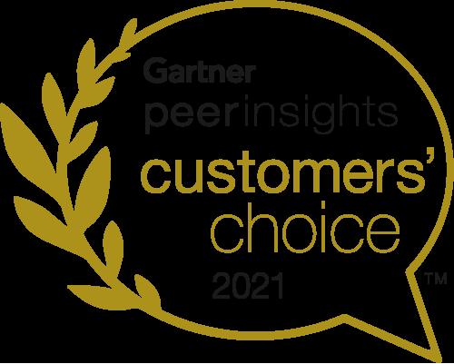 Gartner Peer Insights Customers' Choice badge