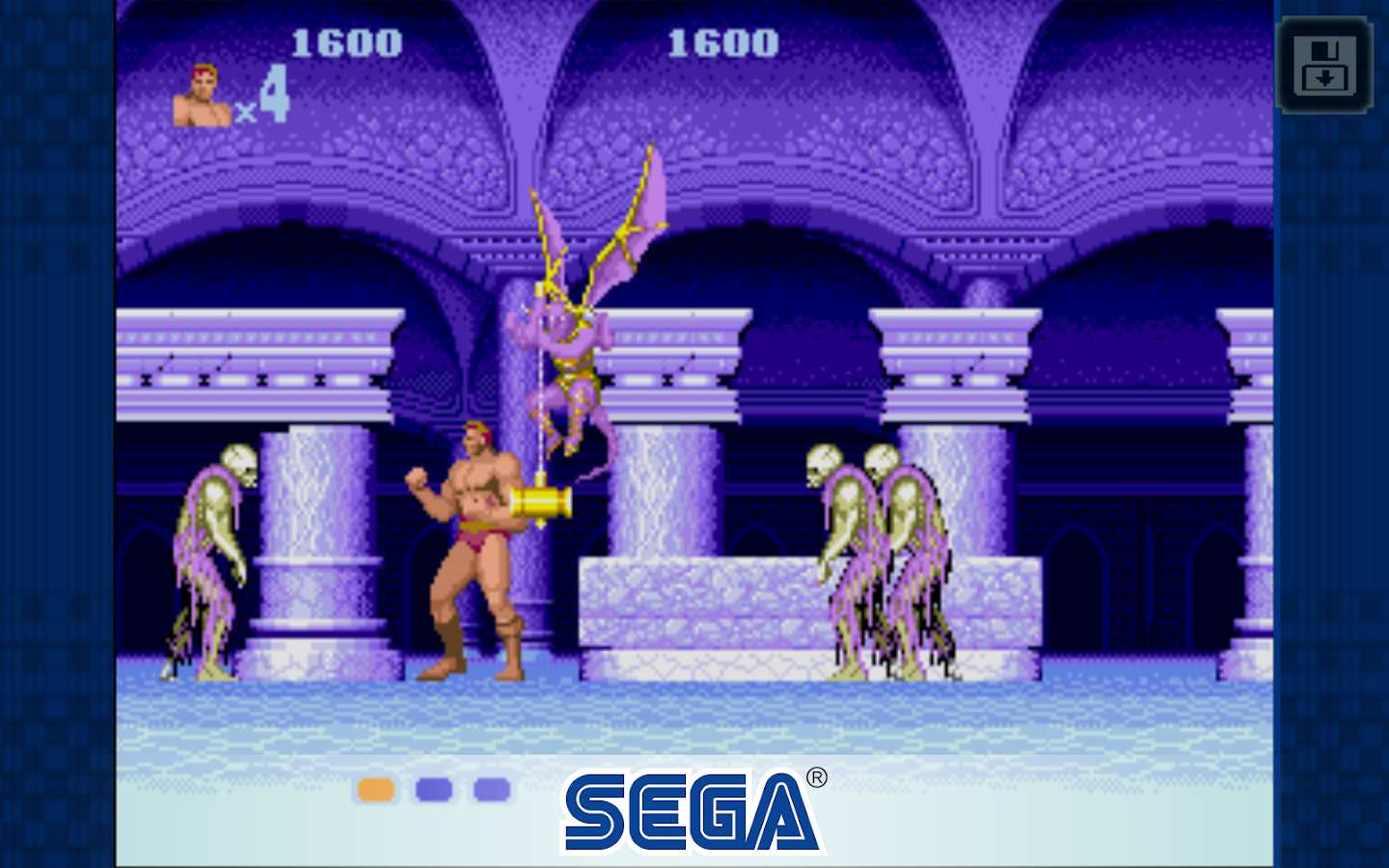 Altered Beast – Capture d'écran