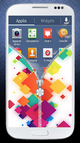 android Zipper Screen Lock 2016 Screenshot 5