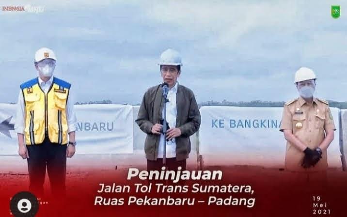 Presiden Berharap, Tol Pekan Baru – Bangkinang Dapat Tingkatkan Daya Saing Produk Riau