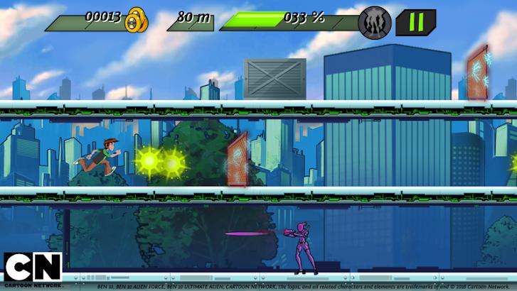 Ben 10: Omnitrix Power screenshot