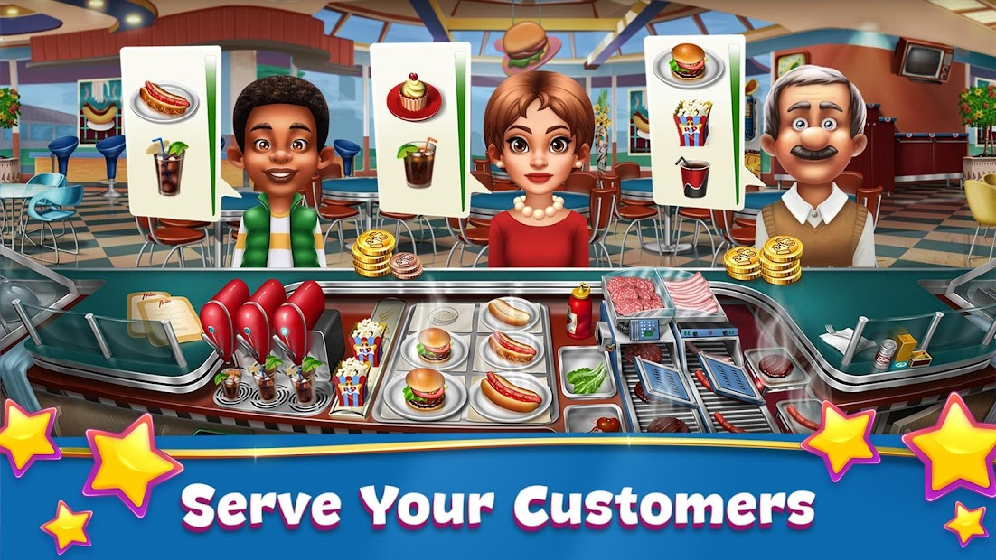 Cooking Fever Android App Screenshot