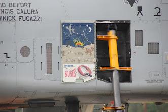 Photo: Ten egzemplarz służył podczas wojny w Iraku - pozostał okolicznościowy malunek na pokrywie drabinki