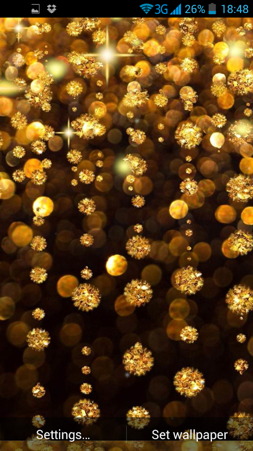 Gold live wallpaper android apps on google play - Gold wallpaper for android ...