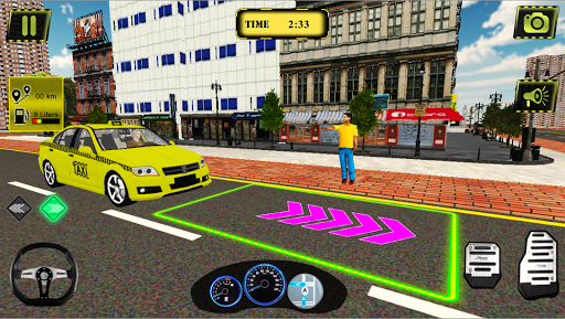 Taxi Simulator New York City - Taxi Driving Game 2.4.4 screenshots 1