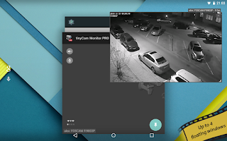 Screenshot of tinyCam Monitor PRO