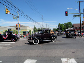 Photo: A bunch of Model T's