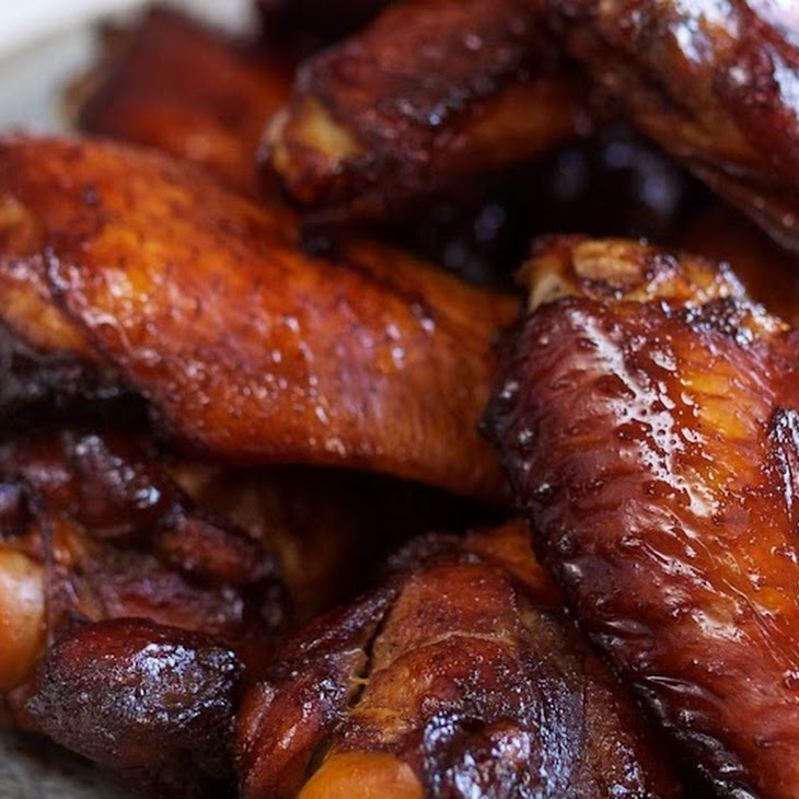 Dad's Grilled Chicken Wings (with Chinese Rose Wine and Five Spice Powder)