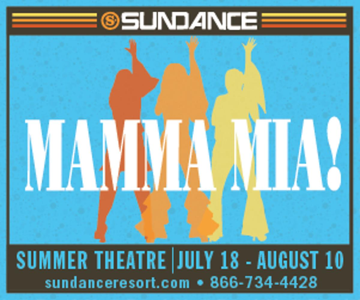 Image result for sundance mamma mia
