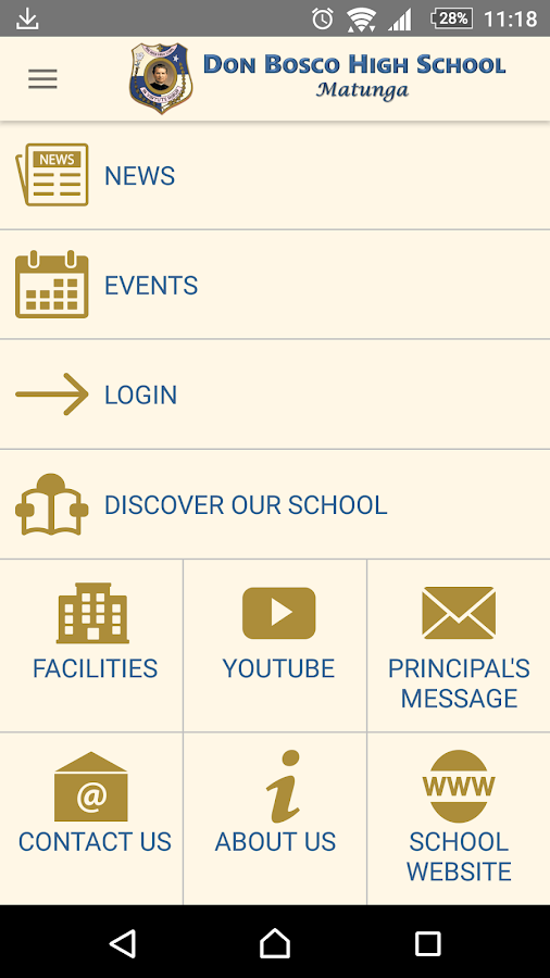 Don Bosco High School, Matunga- screenshot