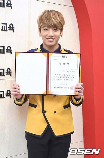 BTS Jungkook Graduated From Seoul School of ARTS