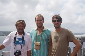 Photo: Rick, Mugnus and Kaspar at 2 Lovers Point