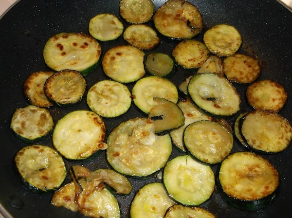 Add sliced zucchini; fry in butter, turning frequently, until very tender and browned (not...