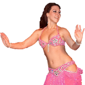 Sexy Belly Dance at Beach