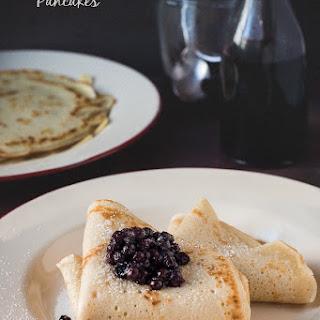 German Blueberry Pancakes.