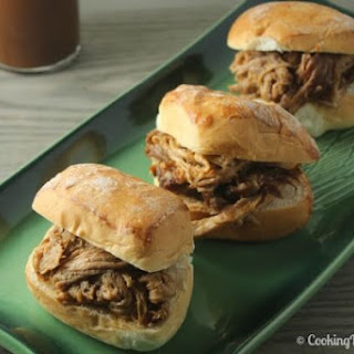 Bourbon Pulled Pork Sliders