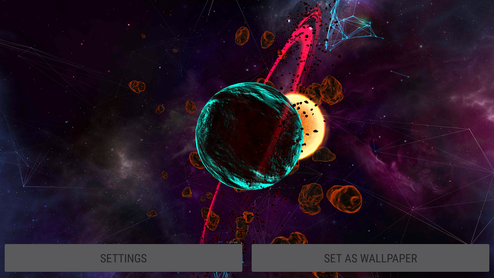 Gyro VFX Planets 3D Live Wallpaper - Android Apps on ...