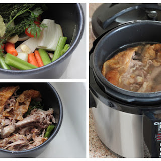 Pressure Cooker Turkey Stock