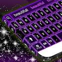 Purple Neon Keyboards Free icon