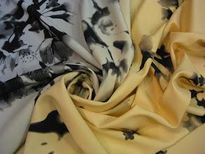 Photo: Ткань: кади (97% нат. шелк 3% лайкра) ш. 140 см., цена 5500р.