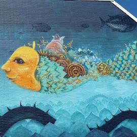 Wall Art  by Rita Goebert - Artistic Objects Other Objects ( wall art; worcester; massachusetts; school building art,  )