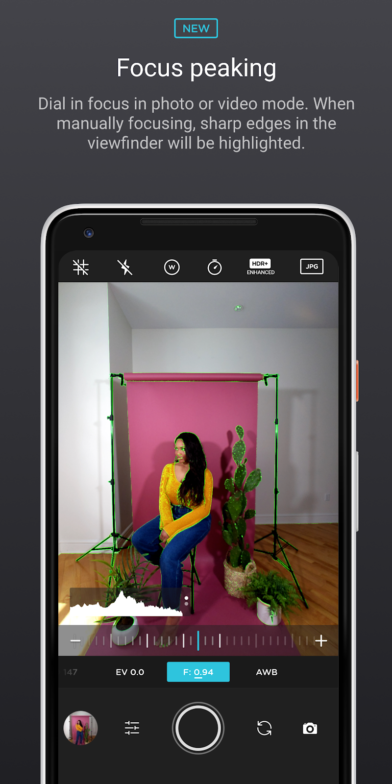 Moment Pro Camera Screenshot 1