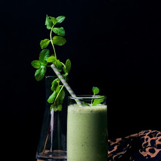 Salted Cucumber Mint Lassi