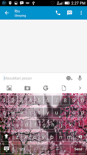 Sakura Keyboard Themes