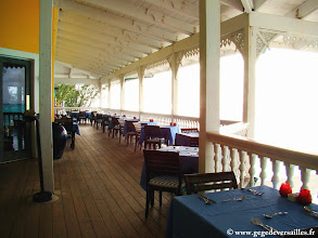 Photo: #022-Le restaurant annexe Watlings au Club Med de Columbus Isle.