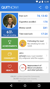 Quit smoking - QuitNow!- screenshot thumbnail