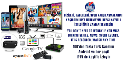 Screenshot of Giniko Turkish TV for GoogleTV