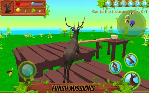 Deer Simulator - Animal Family APK MOD – Pièces Illimitées (Astuce) screenshots hack proof 2