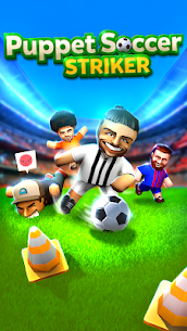 Puppet Soccer Striker: Football Star Kick Mod Apk (All skins Unlocked) 5