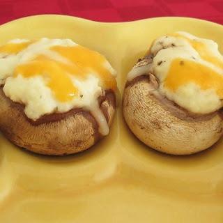 Fancy Dancy Stuffed Mushrooms