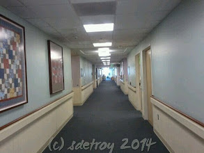 Photo: Grateful for the opportunity to change this hallway into a Hallway of Hope